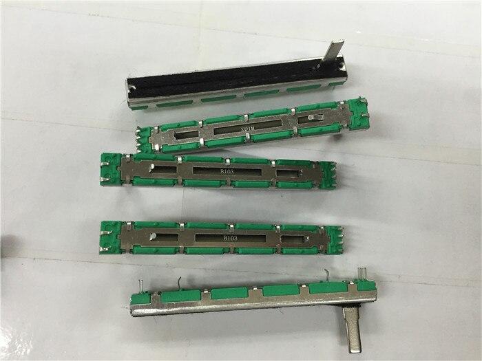 50PCS B10K B103 B mixer fader B10K 7 5CM 75MM B10KX2