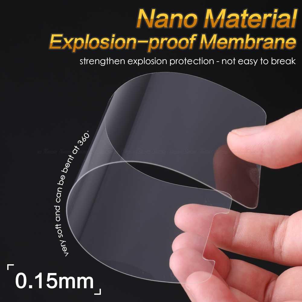 2 unids/lote HD pantalla suave Nano Protector de pantalla a prueba de explosiones película protectora para Nokia 9 PureView 8 7 Plus 6 2018 5 3