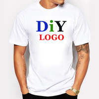 DIY Customized Men S T Shirt Print Your Own Design High Quality T Shirt Size S
