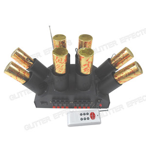 Image 2 - ELT08R remote control 8 channel sculpt cold fountain console for wedding system machine