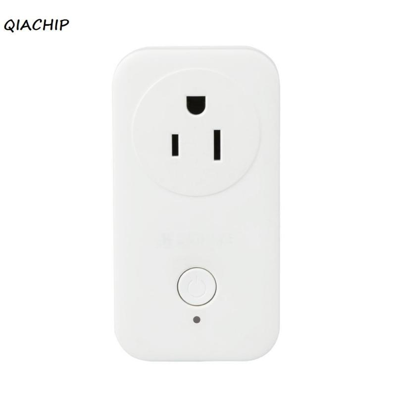 QIACHIP WiFi Smart Plug Smart Socket Switch Work with Amazon Alexa Wireless Timing Switch Remote Control Via APP for Smartphone qiachip wifi wireless power eu plug smart home outlet light switch socket remote control switch outlet work with amazon alexa