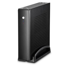 цена на ET-4 Thin Mini ITX Cases Usb2.0 2.5 Inch HDD SSD SGCC Computer Gaming Pc Desktop Chassis Quiet For Motherboard Below 20 Mm