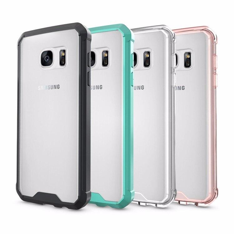 Samsung Galaxy S7 üçün Kristal Təmiz Arxa Panel Qabıqlı Ultra - Cib telefonu aksesuarları və hissələri - Fotoqrafiya 6