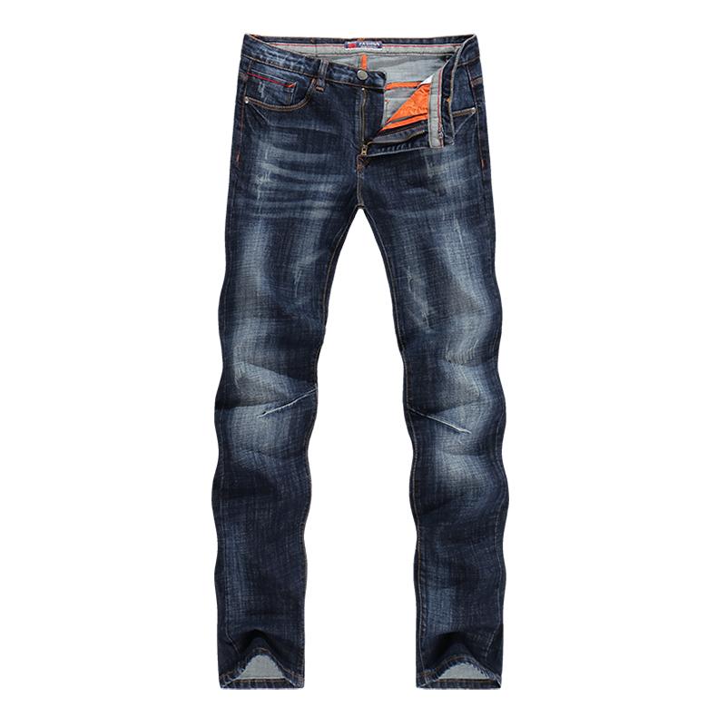 KSTUN New Arrivals Jeans Men Quality Brand Business Casual Male Denim Pants Straight Slim Fit Dark