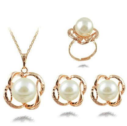 JS S173 2015 New Arrival Pearl Jewelry Sets High Quality ...