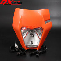 New Motorcycle Dirt Bike Motocross Universal Headlight For 2017 KTM SX SX F EXC EXC F