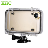 Extreme Sports Waterproof Case With 170 Degrees Wide Angle Lens For IPhone 6 6s Compatible With
