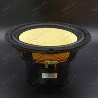 HIFIDIY LIVE HIFI 8 inch 8 Midbass Woofer speaker Unit 4 / 8 OHM 160W yellow Glass fiber vibratory basin Loudspeaker BK8 210S