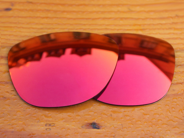 Fire Red Mirror Polarized Replacement Lenses For Frogskins Sunglasses Frame 100% UVA & UVB Protection
