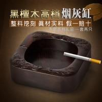 Rosewood Crafts Ebony Wood Zhai Gallery Of Chinese Wood Carving Dragon Ornaments Ashtray Ashtray Creative Size