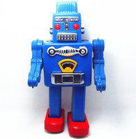 [Best] Adult Collection Retro Wind up toy Metal Tin The robot Mechanical toy Clockwork toy figures model kids christmas gift