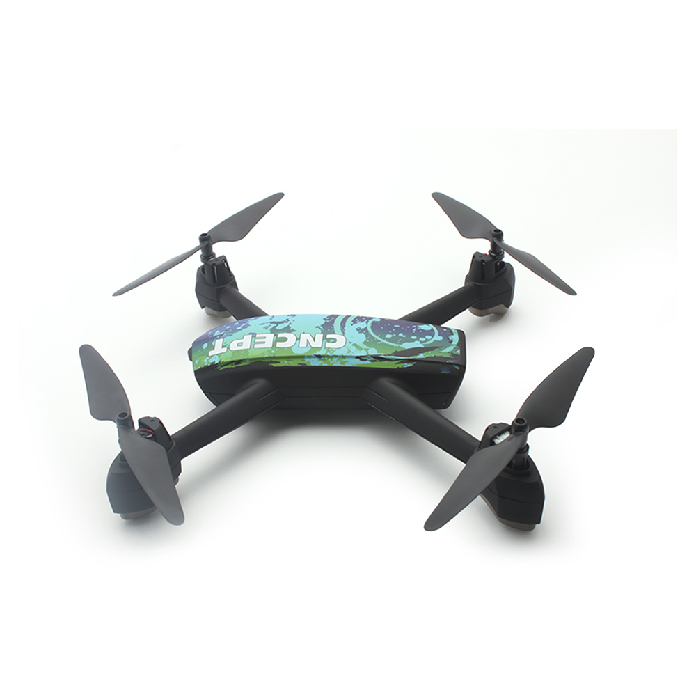 JXD 518 2.4G 720P RC Drone with Camera Wifi FPV GPS Positioning Altitude Hold RC Quadcopter LED Light Remote Control Helicopter