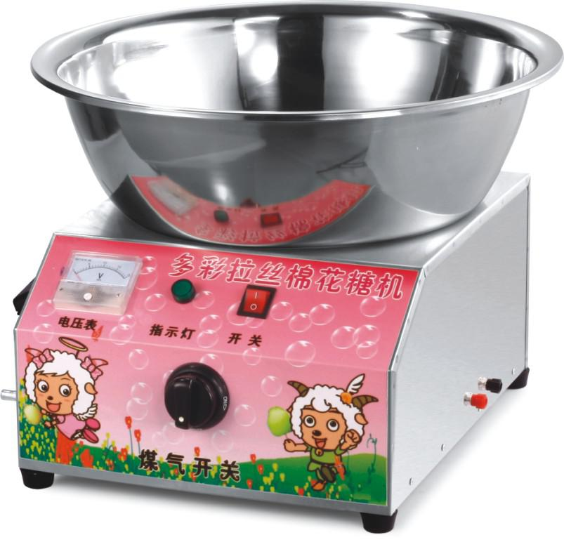how to make cotton candy with a machine