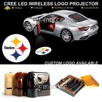 Двери автомобиля Предоставлено Добро пожаловать проектора лазерный Сталь-ERS гобо логотип Свет Добро пожаловать Призрак Тень Лужа эмблема ...