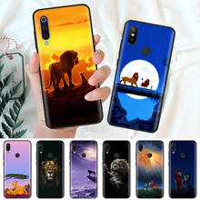 Black Silicone Case Bag Cover for Xiaomi Mi A1 A2 8 Lite Play Redmi Note 7 6 6A 5 Plus 4X Pro Poco F1 Coque Core The Lion King стоимость