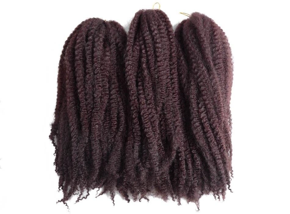 Crochê Trança Tranças de Cabelo Afro Torção