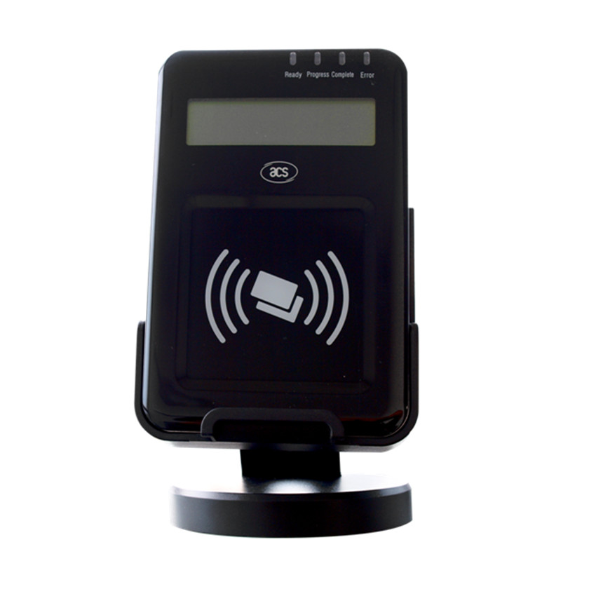 ACR1222L usb interface de poche rfid tag lecteur