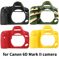 qeento Lightweight Camera Bag Case Protective Cover for canon EOS 6DII 6D2 6D Mark II 2 digital camera