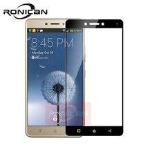 """Full Cover Tempered Glass For Lenovo K6 Note Phone Screen Protector Glass For Lenovo k6 note K53a48 5.5"""" Protective Film 2.5D 9H"""