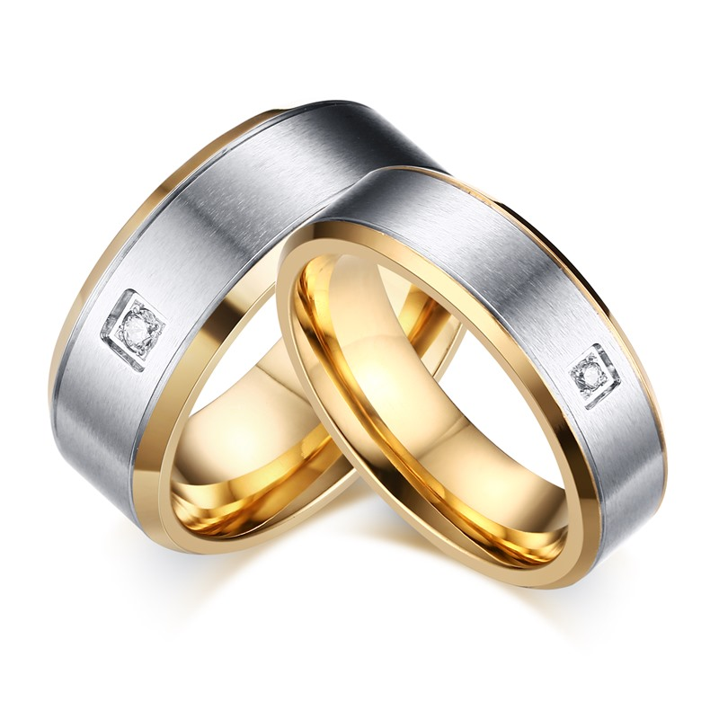 Aliexpresscom Buy Round Solitaire Wedding Ring for Women and