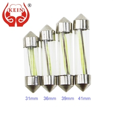 KEIN C3W C5W C10W COB Auto led festoon reading light Door Bulb License Plate Trunk Interior Lamp 31MM 36MM 39MM 41MM Vehicle 12V