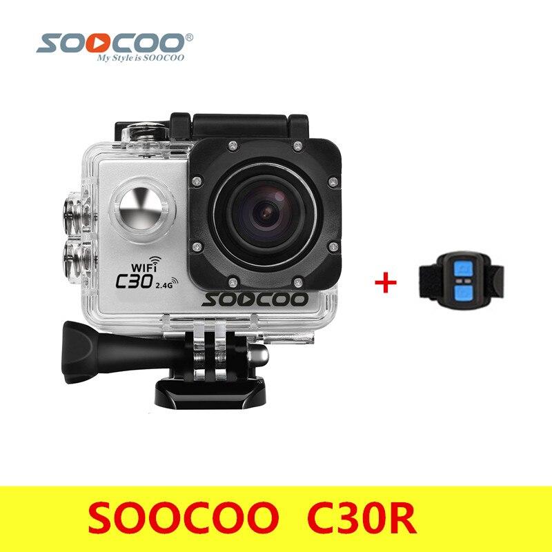 Original SOOCOO C30R Action Camera 20MP 4K Wifi Ultra HD 1080P/60FPS Waterproof Mini Cam Outdoor Dv Sport Camera With Remote