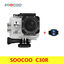 Original SOOCOO C30R Action Camera 20MP 4K Wifi Ultra HD 1080P/60FPS Waterproof Mini Cam Outdoor Dv Sport Camera With Remote