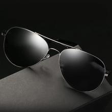 New Pilot Aluminum Magnesium Polarized Sunglasses Retro Men Driver Mirror Sun Glasses Male Fishing Female Metal Eyewear For Men