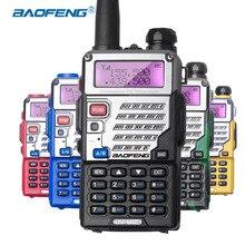 Baofeng UV5RE UV-5RE Walkie Talkie de Doble Banda CB Radio 128CH VOX Radio Ham Radio Transceptor Profesional Carcasa de Acero para La Caza