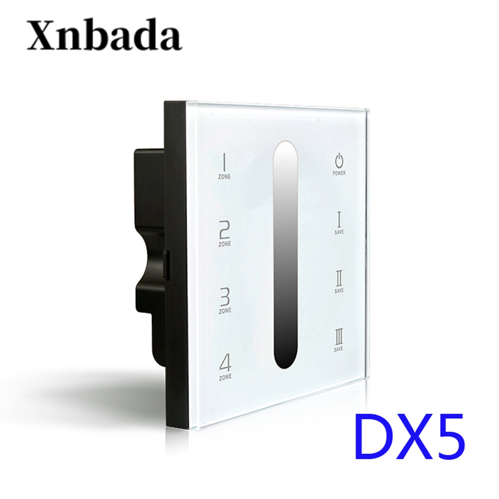 100% Quality Dx5 Touch Panel Led Controller,ac100-240v Input,rf 2.4g+dmx512 Output Signal For R4-5a/r4-cc Wireless Receiver Cheap Sales
