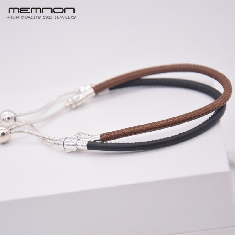 2018 Summer New MOMENTS brown Leather Hand Chain bracelets fit 925 sterling silver Jewelry charms beads DIY for Women BR0672018 Summer New MOMENTS brown Leather Hand Chain bracelets fit 925 sterling silver Jewelry charms beads DIY for Women BR067