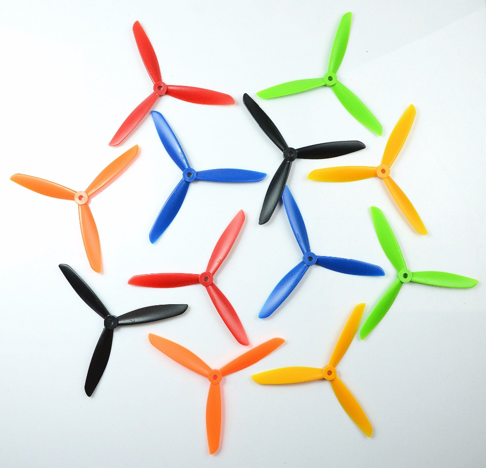 7X4.5 7045 7045R CW CCW 1 Pair 3-Blade Electric Propeller RC Multicopter Quadcopter Kit Model Accessories UAV Accessories YLBZ A rnd folding propeller 4 pair cw ccw 2 blade propeller rc multicopter quadcopter propeller uav 1047 1247 5030 6045 7045 8045 9450