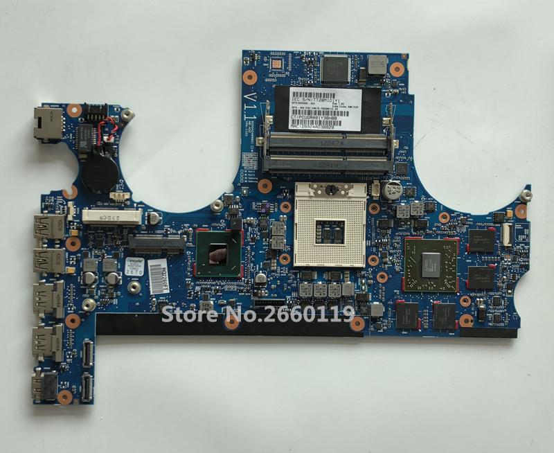 High quality laptop motherboard for 17T-3200 15 689998-001 668847-001 Fully tested high quality desktop motherboard for 580