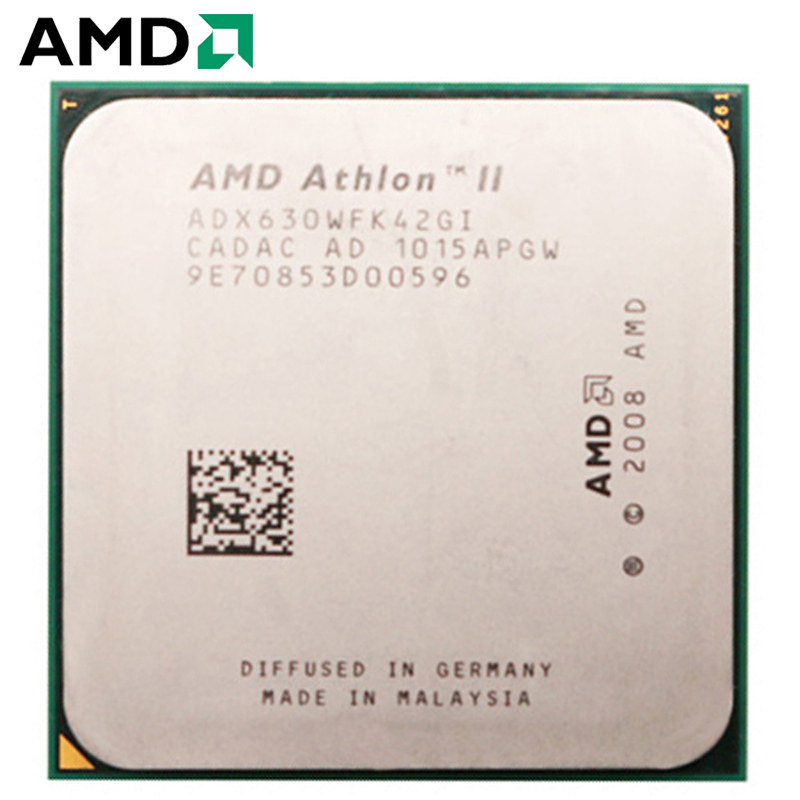 AMD Athlon II X4 630 CPU Socket AM3 95W 2.8GHz 938-pin Quad-Core Desktop Processor CPU X4 630 Socket Am3