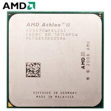 AMD Athlon II X4 630 CPU Штепсель AM3 95 W 2,8 GHz 938-pin четырехъядерный настольный процессор CPU X4 630 разъем am3