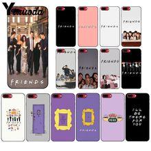 Yinuoda Friends Season TV Soft Silicone TPU Phone Cover for Apple iPhone 8 7 6 6S Plus X XS MAX 5 5S SE XR