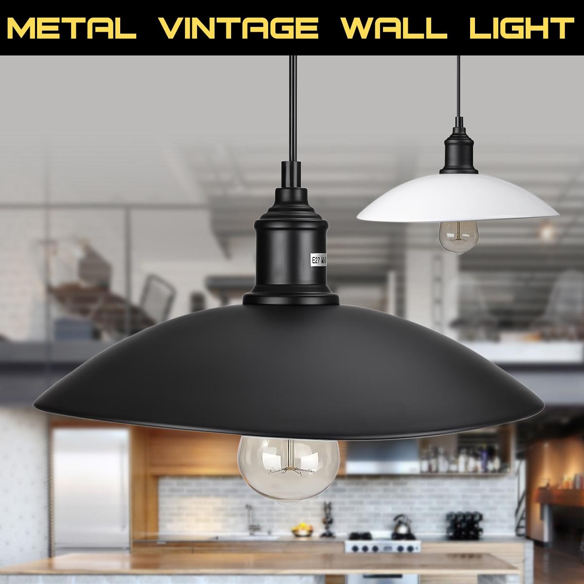 Vintage Industrial Shop Light: Industrial Vintage Hanging Pendant Light Lamp Vintage