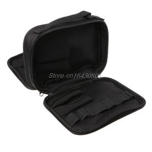 Double-deck Pocket Tool Kit Bag For Electronic Cigarette DIY Tools Carry Bag Case