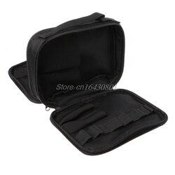 Double-deck Saco Kit De Ferramentas de Bolso Para O Cigarro Eletrônico DIY Ferramentas Carry Bag Caso Bolso S08 Melhor Qualidade