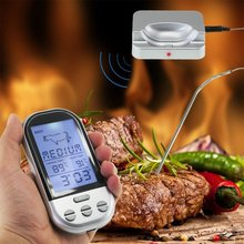 Cheap price Wireless Food Cooking Thermometer LCD Barbecue Timer Digital Probe Meat Thermometer BBQ Temperature Gauge Kitchen Cooking Tools