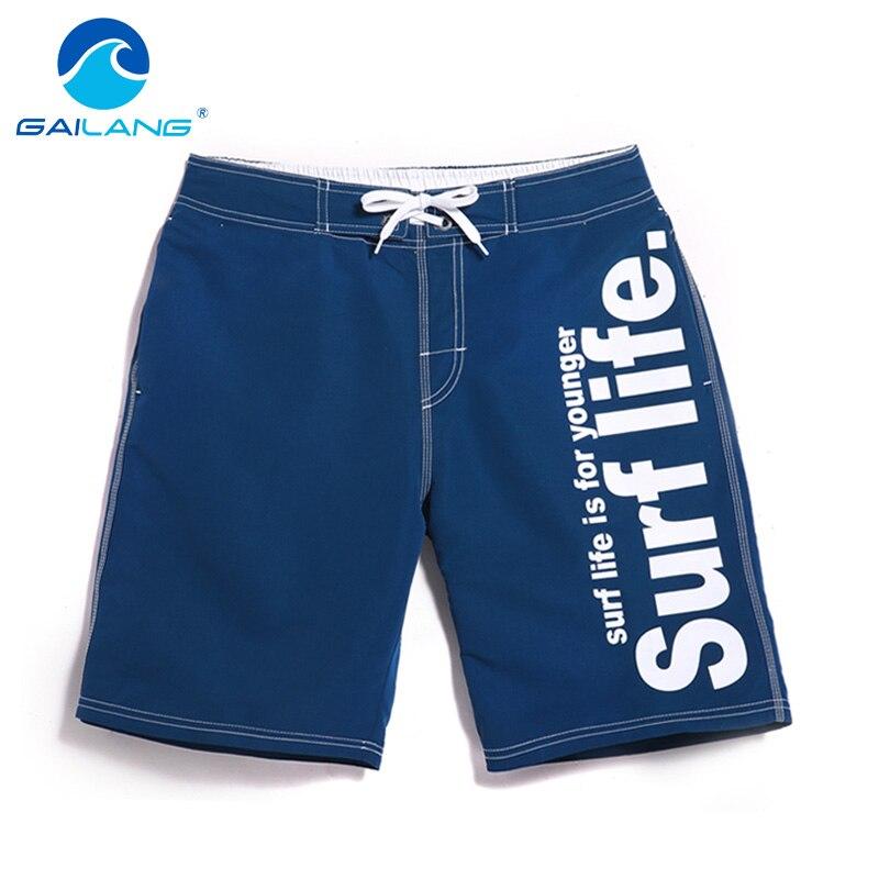 Gailang Brand Beach Swimwear Men Burime Pantallona të shkurtra Bordi - Veshje për meshkuj - Foto 1