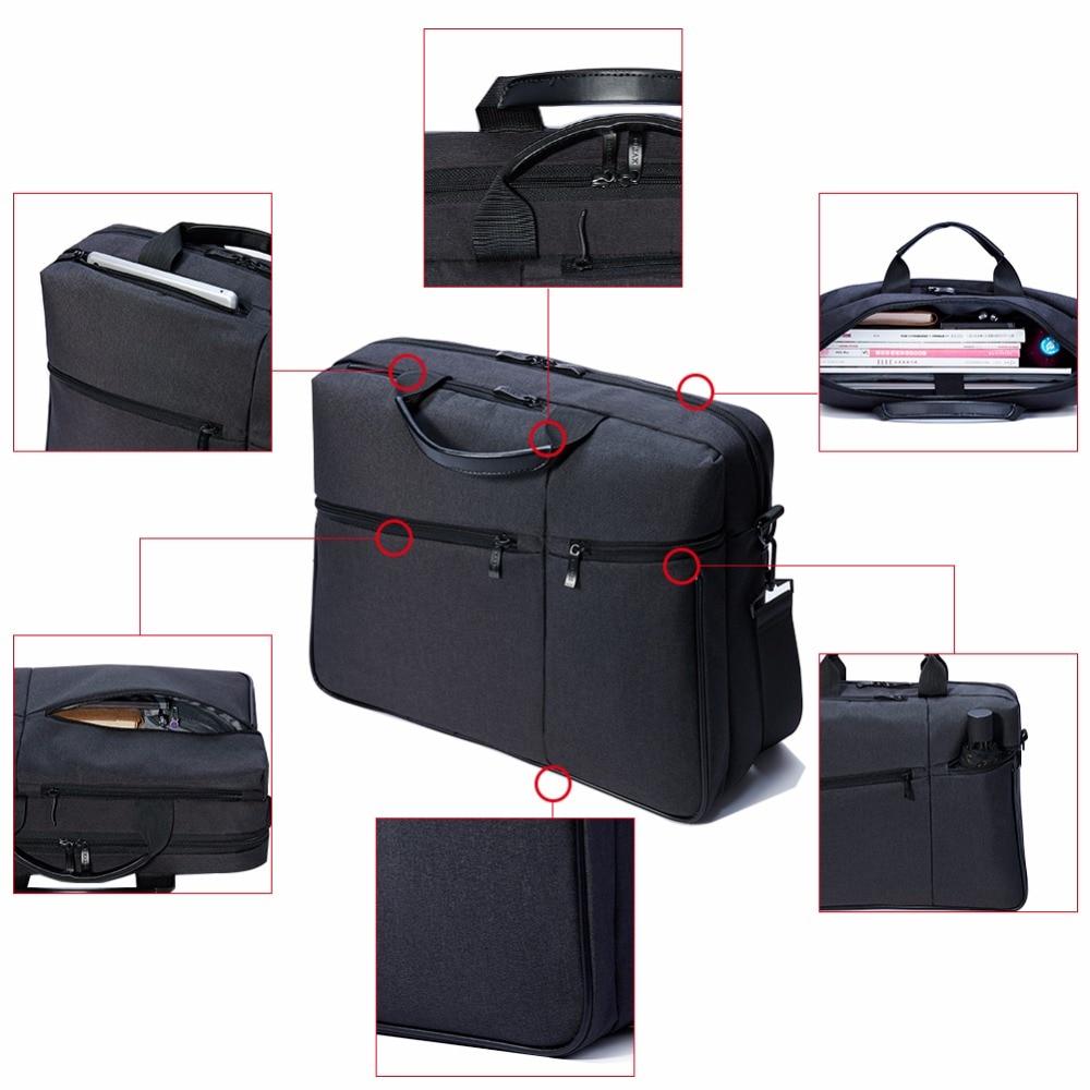 KALIDI noutbuk çantası 15.6 düymlük Kompüter çiyin çantası - Noutbuklar üçün aksesuarlar - Fotoqrafiya 4