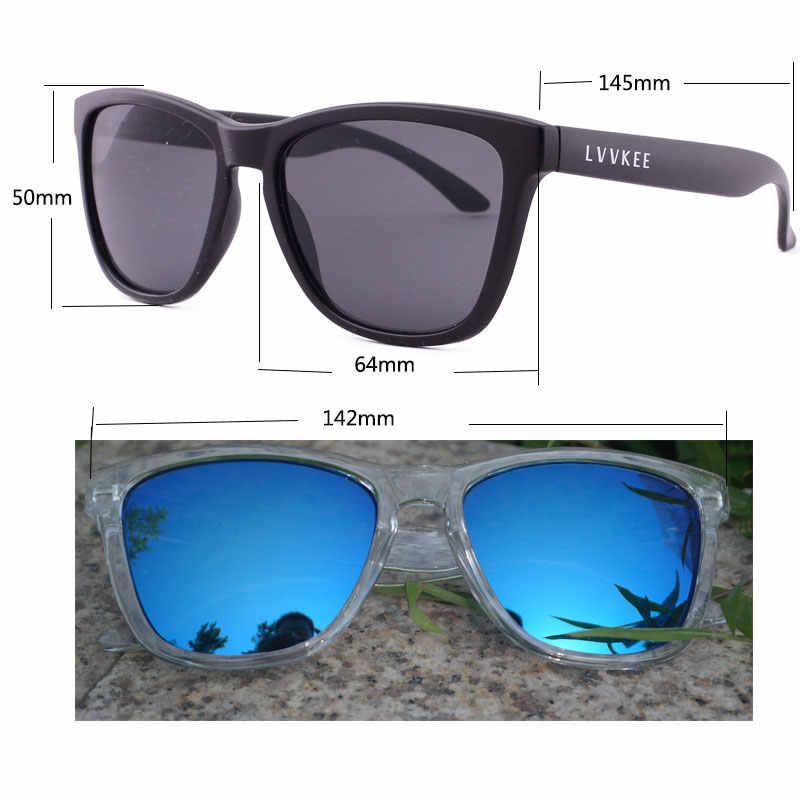 21edb21e4f ... Logotipo de la marca diseño transparente gafas de sol hombres lidiar  con lo de conducción de