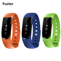 Fuster ID101 Più Nuovo Veryfit 2.0 HR Smart bracciale fitness Android 4.4 IOS7 Astuto wrist band display OLED sonno monitor