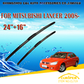 "Lâminas de limpador para mitsubishi lancer estate/saloon (2008-) 2010 car windscreen windshield wiper wiper blade 24 ""+ 16"" carros estilo"