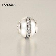 Ổn Định Đính Hạt Phù Hợp Với Pandora Tinh Chất Bộ Sưu Tập Vòng Tay Chính Hãng Nữ Bạc 925 Hạt Charm Trang Sức Hạt Cho Nữ Tự Làm
