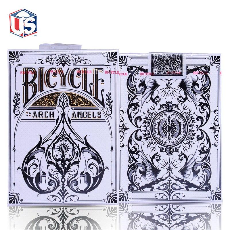 Mago favorito do baralho bicycle baralho pôquer arcanjos teoria 11 edição limitada presente coleção de poker truques de mágica