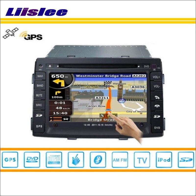 Liislee автомобиля Android мультимедиа для Kia Sorento R 2009 ~ 2012 Радио CD dvd плеер GPS Navi Географические карты навигации аудио Видео Стерео Системы