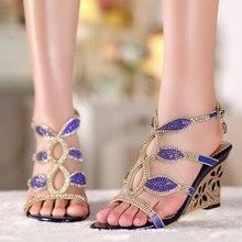 Fashion New High Heel Sandals Beaded Rhinestone Open Toe Lady Bridesmaid Summer Cool Elegant Shoes Bridal Wedding Dresses Shoe