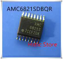 NEW 10PCS/LOT AMC6821SDBQR AMC6821S AMC6821 SSOP-16 IC